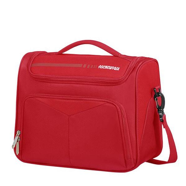 American Tourister Kosmetický kufřík Summerfunk 78G 16,5 l - červená