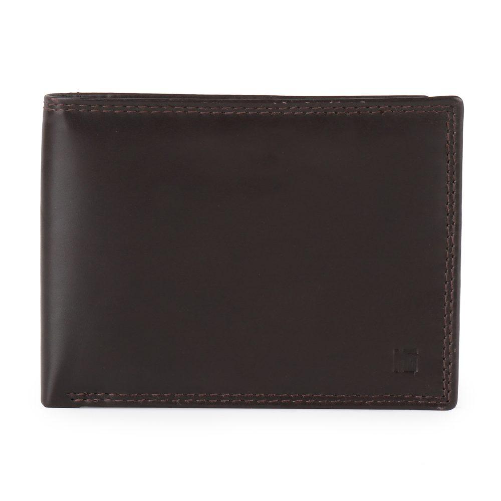 Marina Galanti Pánská kožená peněženka MWP003U05 - tmavě hnědá