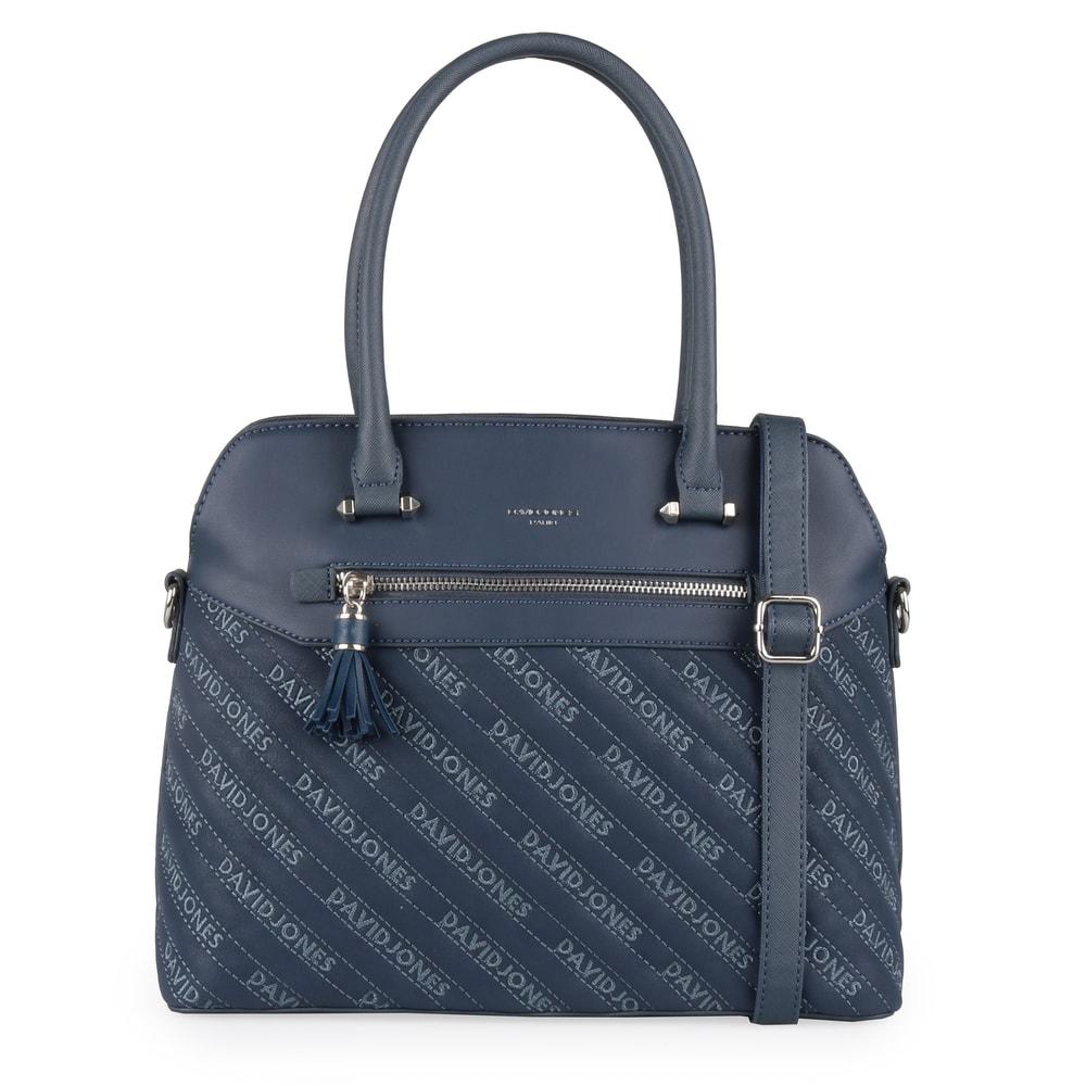 David Jones Paris Dámská kabelka do ruky 6009-2 - tmavě modrá