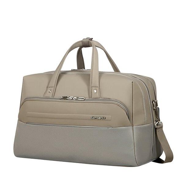Samsonite Cestovní taška B-Lite Icon Duffle CH5 36,5 l - světle hnědá