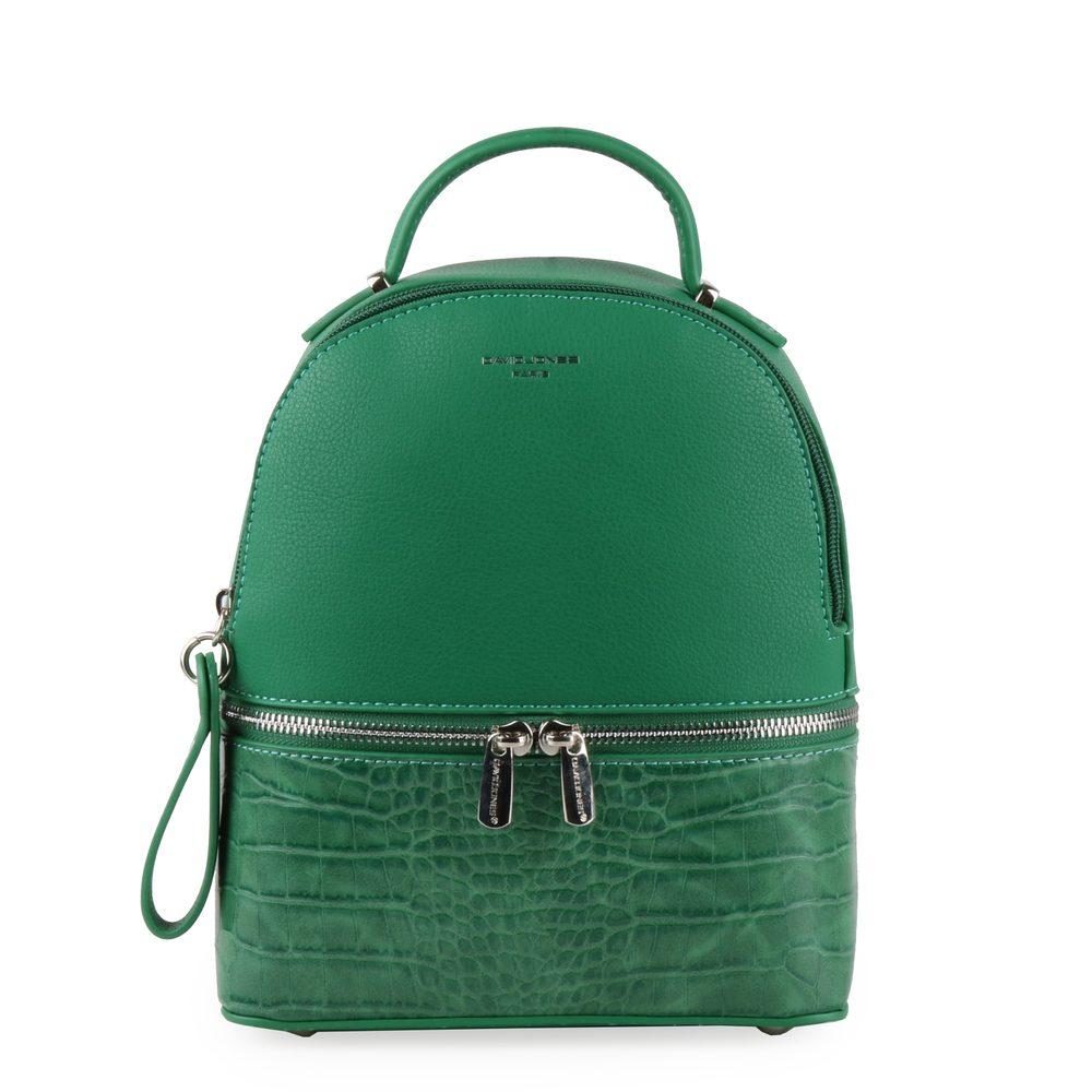David Jones Paris Dámský batoh 6269-1 - zelená