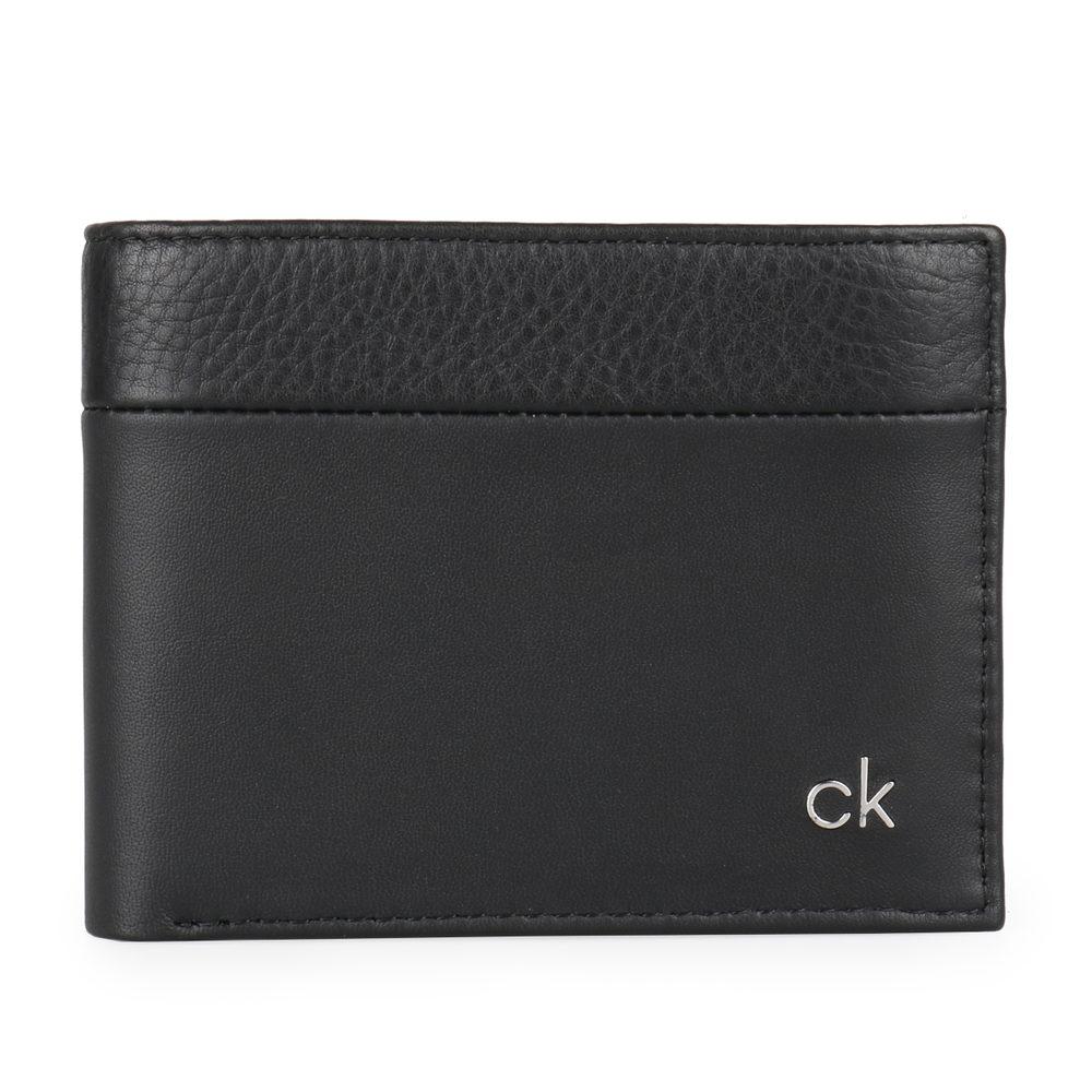 Calvin Klein Pánská kožená peněženka CK Direct K50K504838 - černá