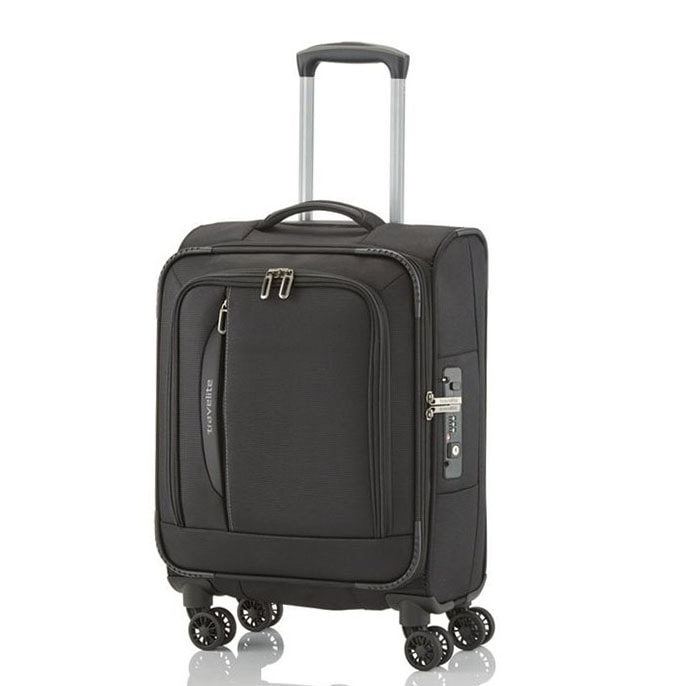 Travelite Kabinový cestovní kufr CrossLITE S 39 l - černá