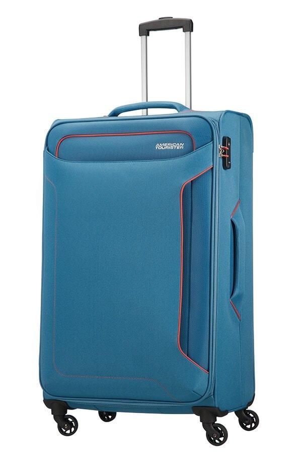 American Tourister Cestovní kufr Holiday Heat Spinner 50G 108 l - světle modrá