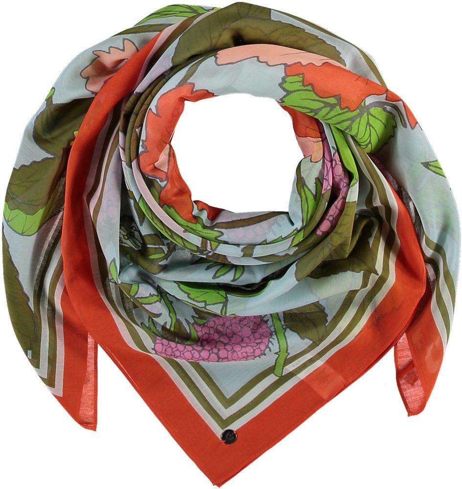 Fraas Dámský čtvercový šátek 633005 - oranžová