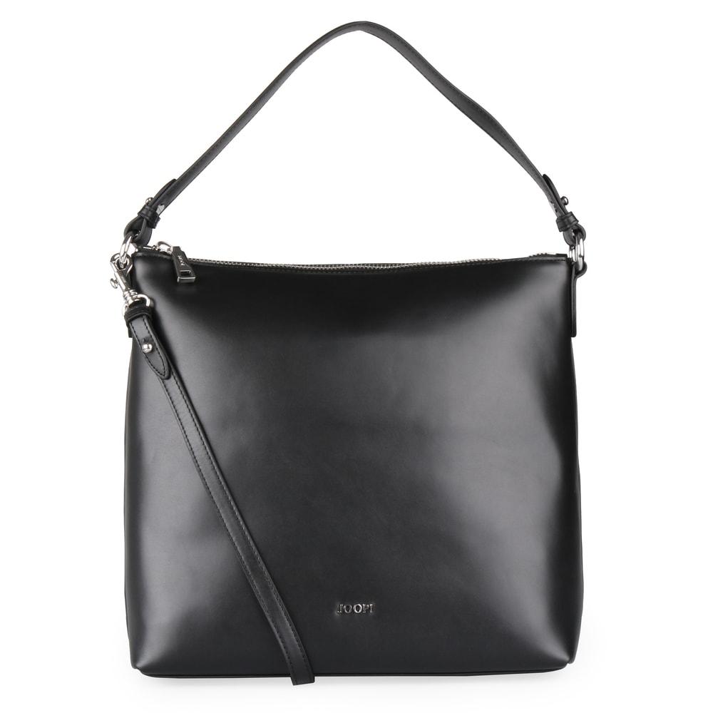 d3f5395d6a Dámská kožená kabelka přes rameno Nausica Estia 4140004370 - černá