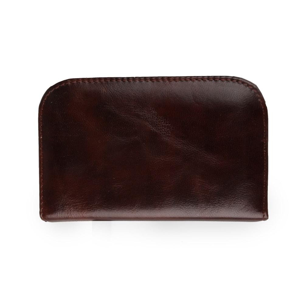 Solingen Pánská kožená sada na manikúru 994-89, hnědá