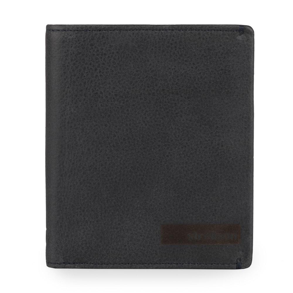 Strellson Pánská kožená peněženka Goldhawk 4010002300 - tmavě modrá