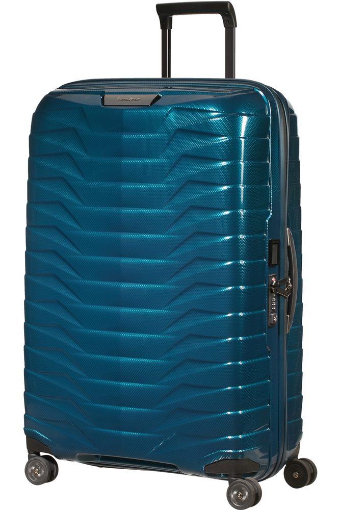 Samsonite Skořepinový cestovní kufr Proxis L 98 l - modrá