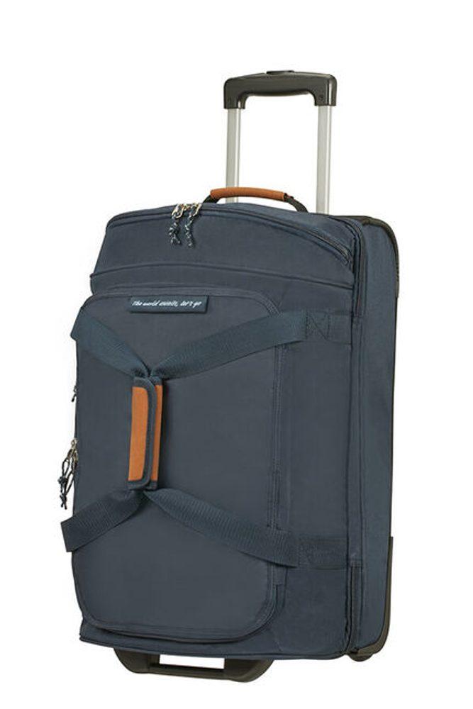 American Tourister Cestovní taška na kolečkách Alltrail S 53 l - tmavě modrá