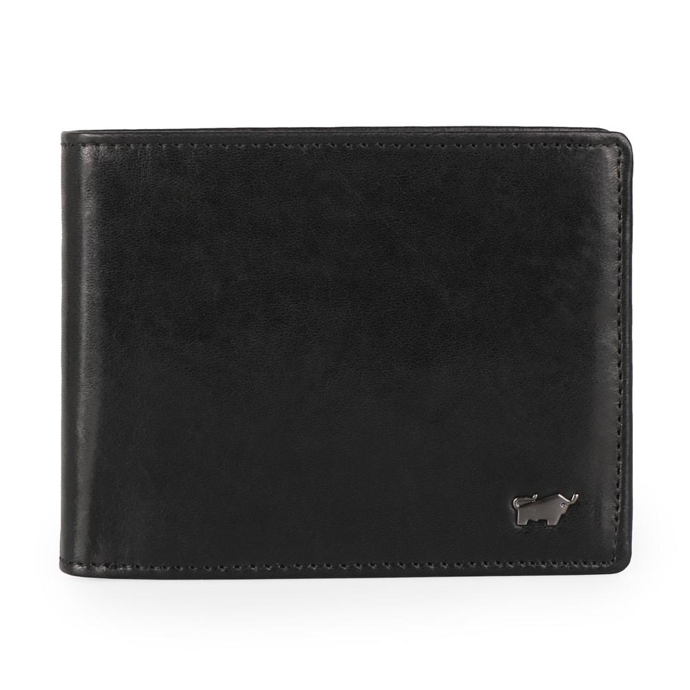 Braun Büffel Pánská kožená peněženka Cambridge 18737-050 - černá