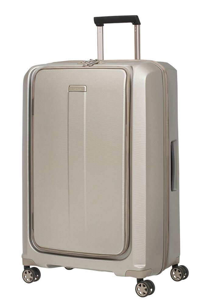 Samsonite Skořepinový cestovní kufr Prodigy Spinner EXP L 100/112 l - zlatá
