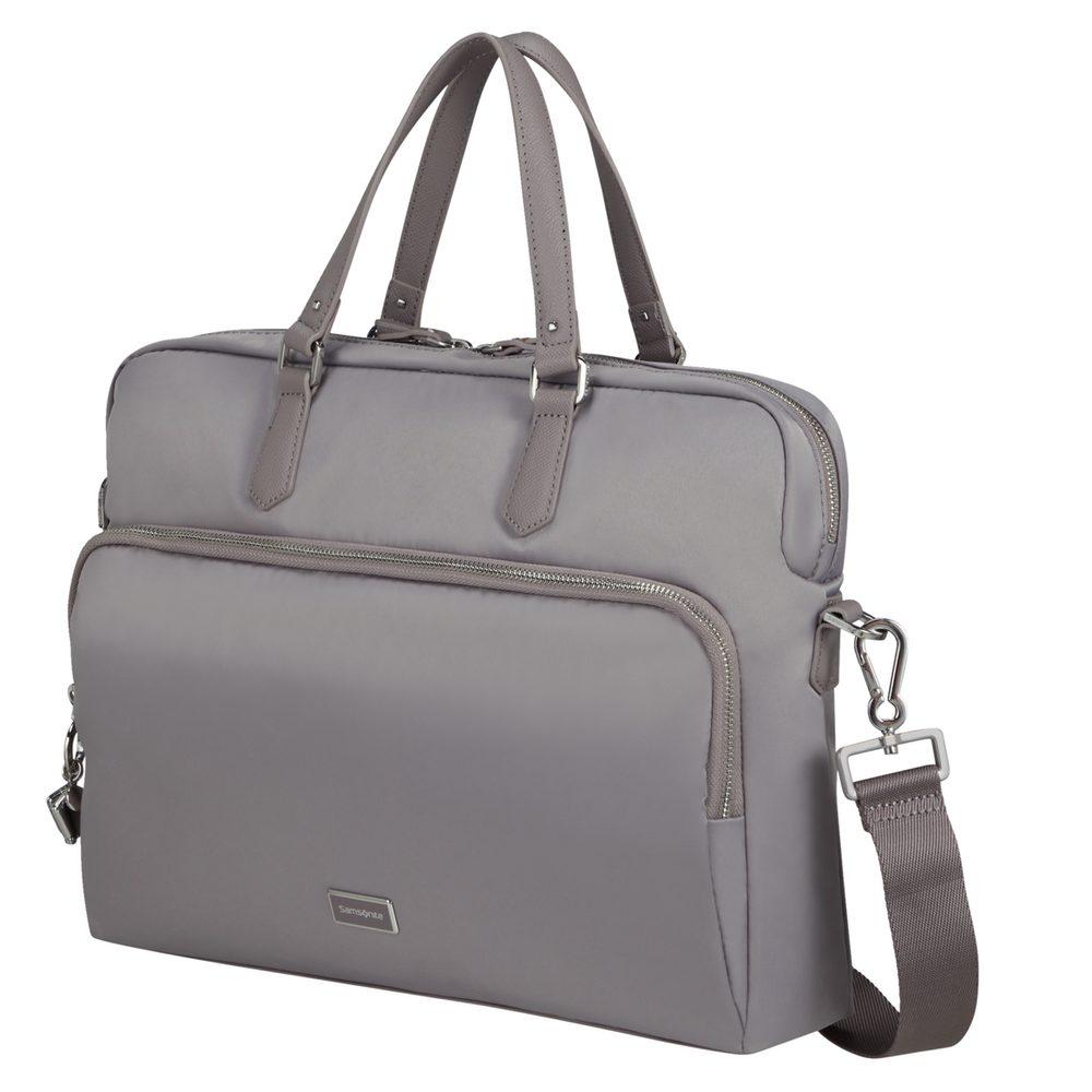 Samsonite Dámská taška na notebook Karissa Biz 2.0 15,6'' - šedá