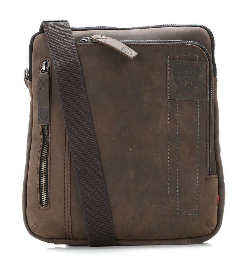 Strellson Pánská taška přes rameno 4010001455 hnědá