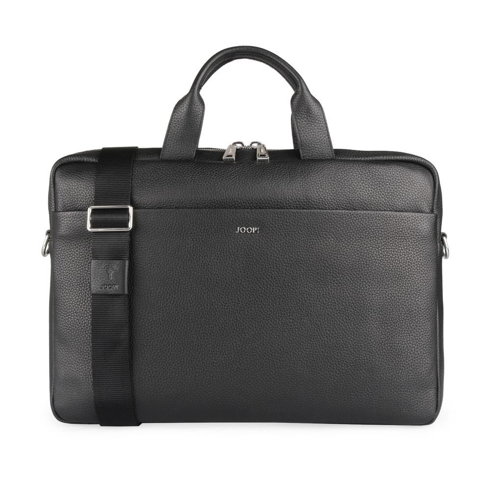 JOOP! Pánská kožená taška do ruky Cardona Pandion 4140004465 - černá