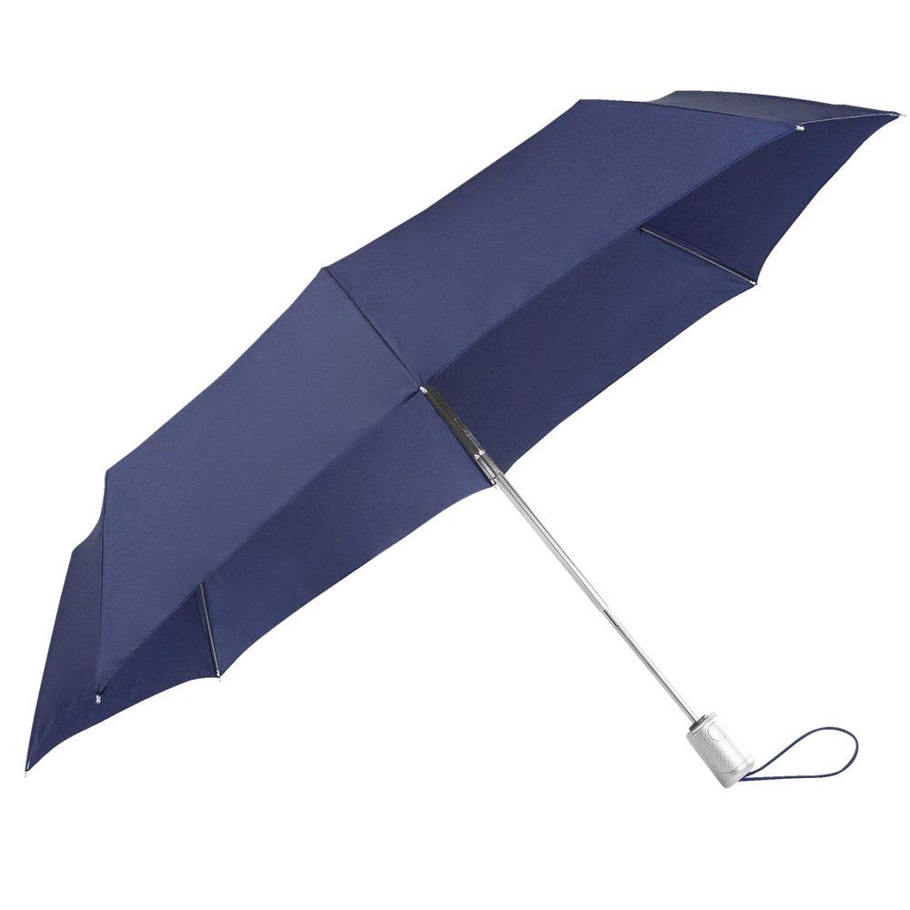Samsonite Skládací automatický deštník Alu Drop S Safe 3 - modrá