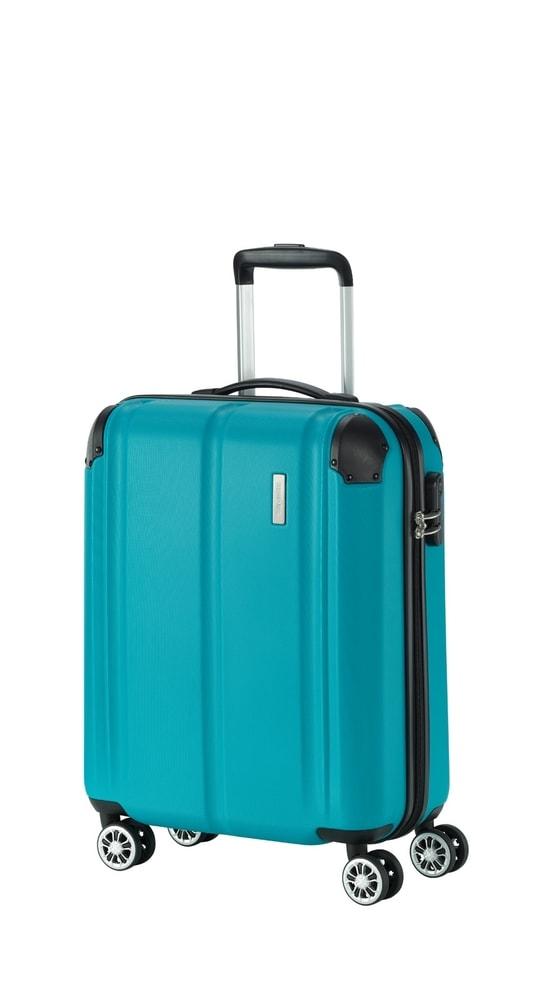 Travelite Kabinový cestovní kufr City 4w S Petrol 40 l