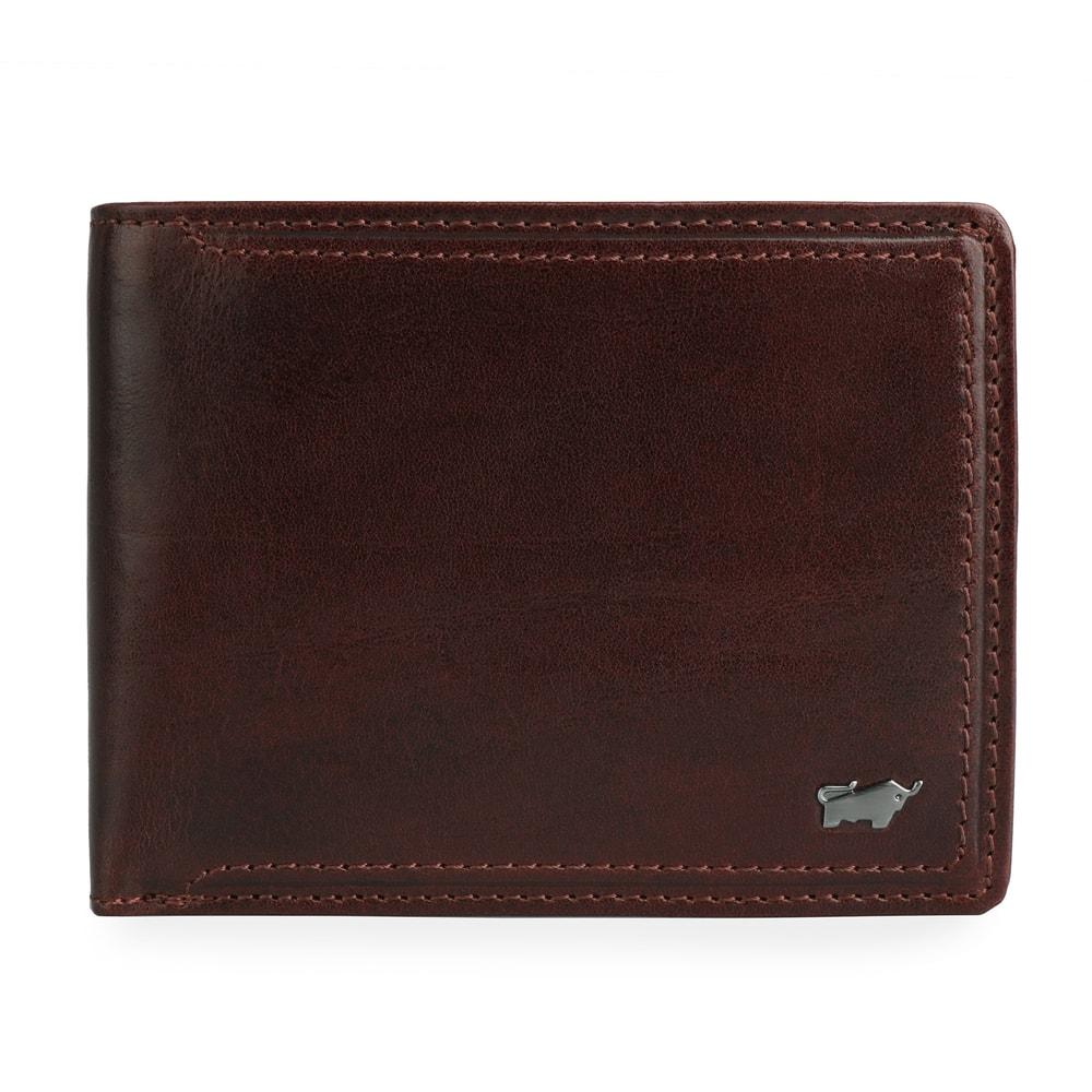 Braun Büffel Pánská kožená peněženka Venice Man 19434-692 - hnědá
