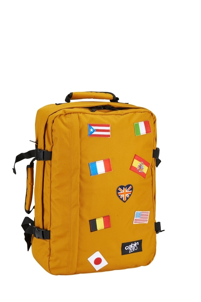 CabinZero Palubní batoh Classic Ultra-light Flag Orange Chill 44 l