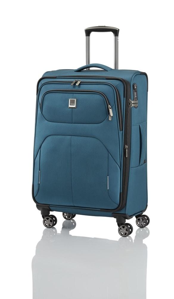 Titan Cestovní kufr Nonstop 4w M Petrol 74/85 l