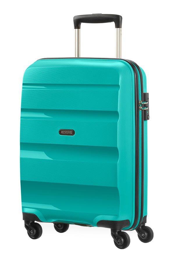 American Tourister Kabinový cestovní kufr Bon Air Spinner 85A 31,5 l - tyrkysová