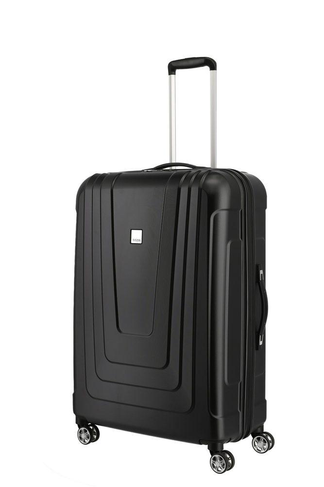 Titan Skořepinový cestovní kufr X-ray 4w L Atomic Black 102 l