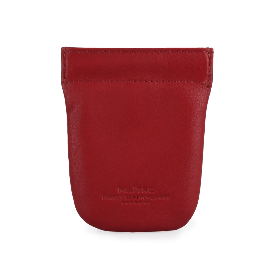 Maitre Kožená klíčenka F3 Sagard 4060001472 - červená