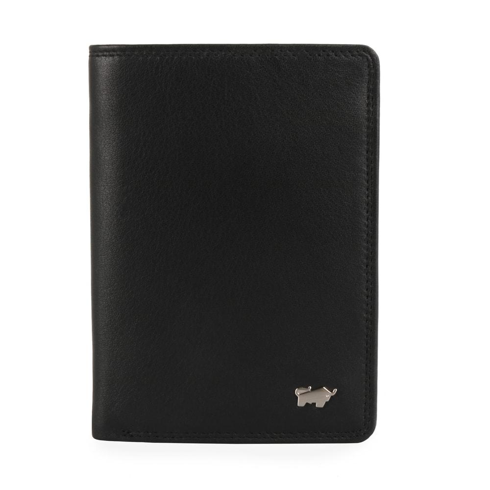 Braun Büffel Pánská kožená peněženka Golf 2.0 90447-051 - černá