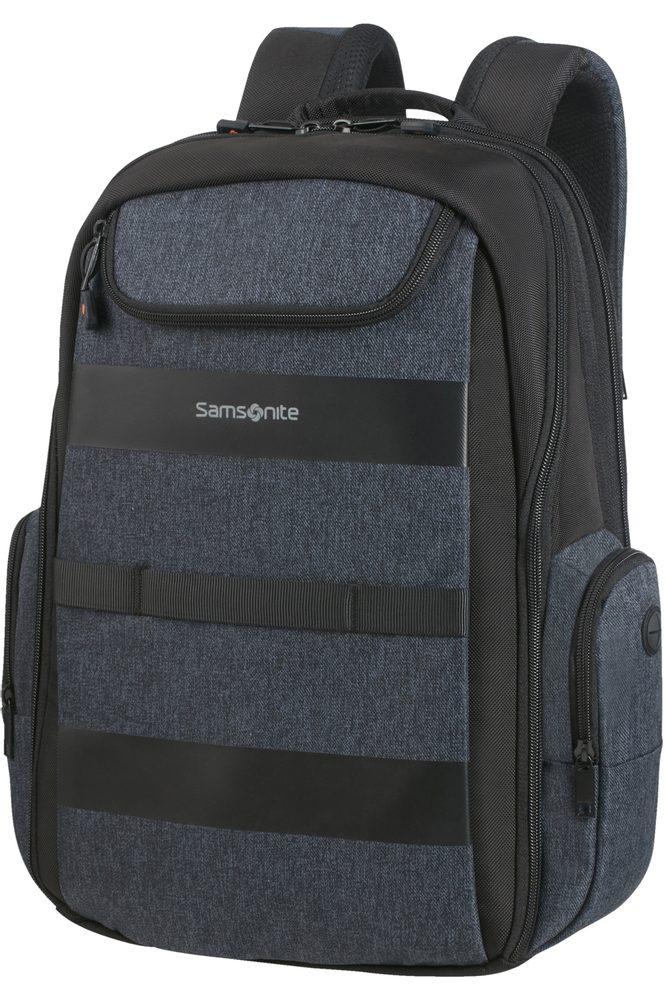 Samsonite Batoh na notebook 15,6'' Bleisure EXP Daytrip 22,3/27,3 l - tmavě modrá