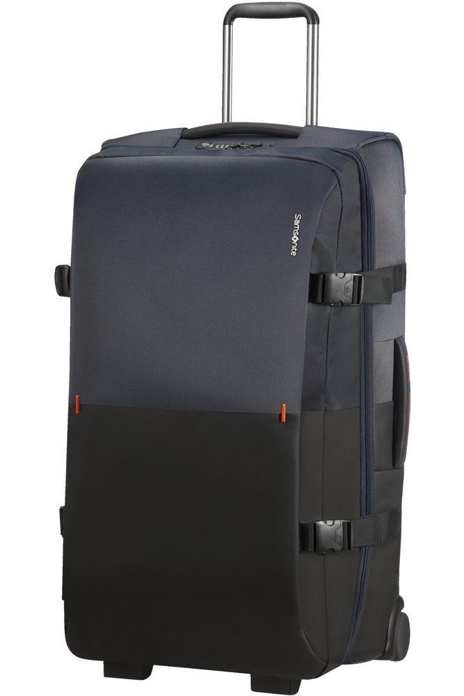 Samsonite Látková cestovní taška na kolečkách Rythum 115 l - tmavě modrá