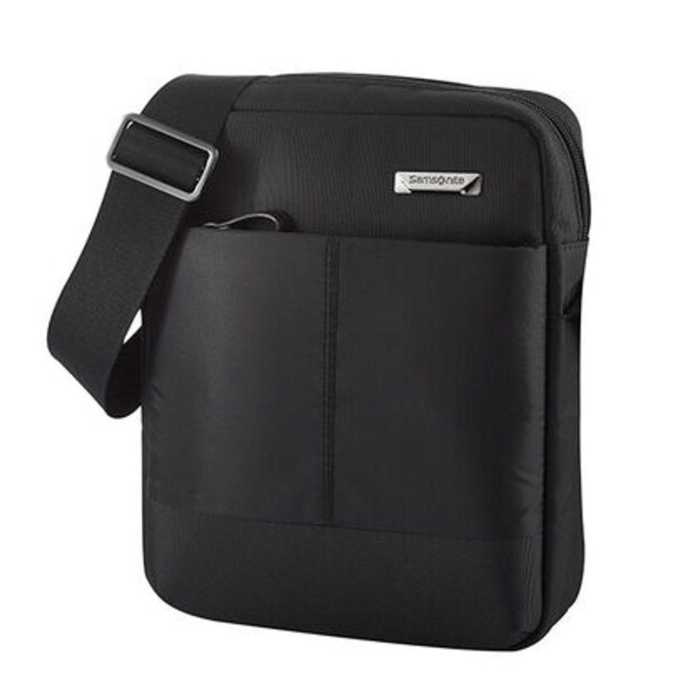 Samsonite Pánská taška přes rameno Hip-Tech 2 Tablet Crossover M 9,7'' - černá