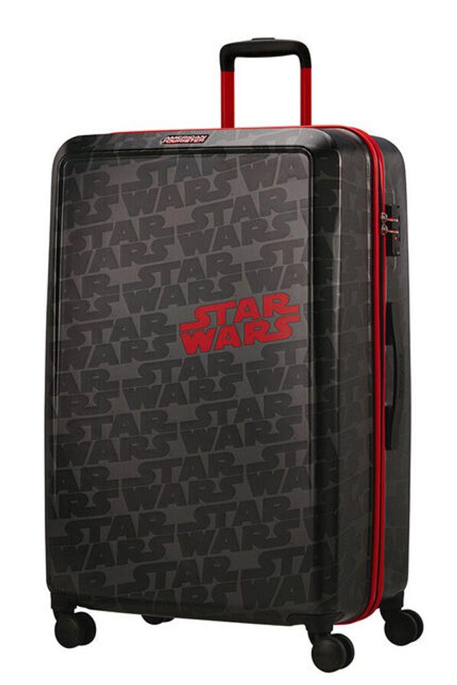 American Tourister Skořepinový cestovní kufr Funlight Disney Star Wars Logo 98,5 l - šedá