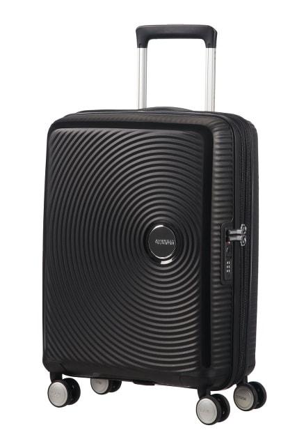 American Tourister Kabinový cestovní kufr Soundbox EXP 35,5/41 l - černá
