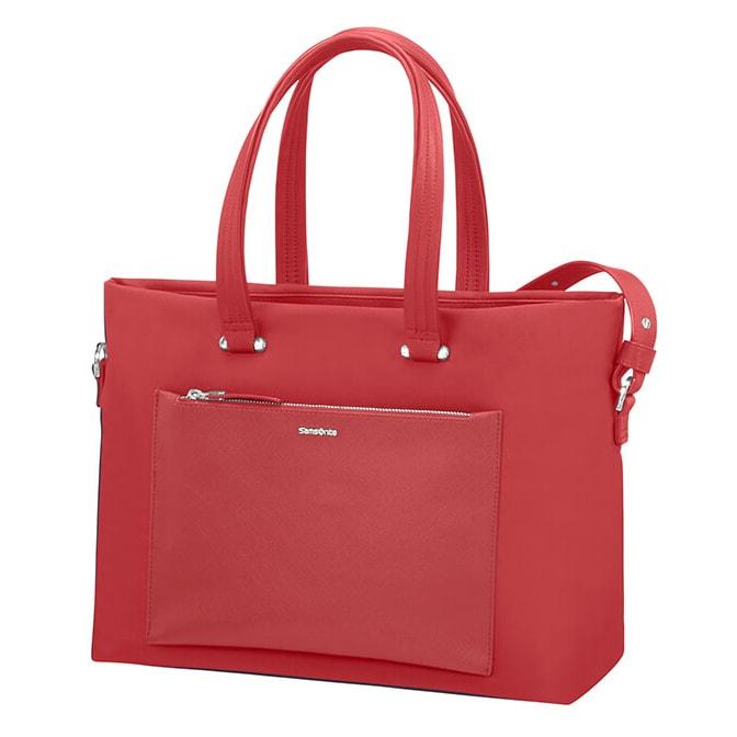 """Samsonite Dámská taška na notebook Zalia 85D-008 15.6"""" - červená"""