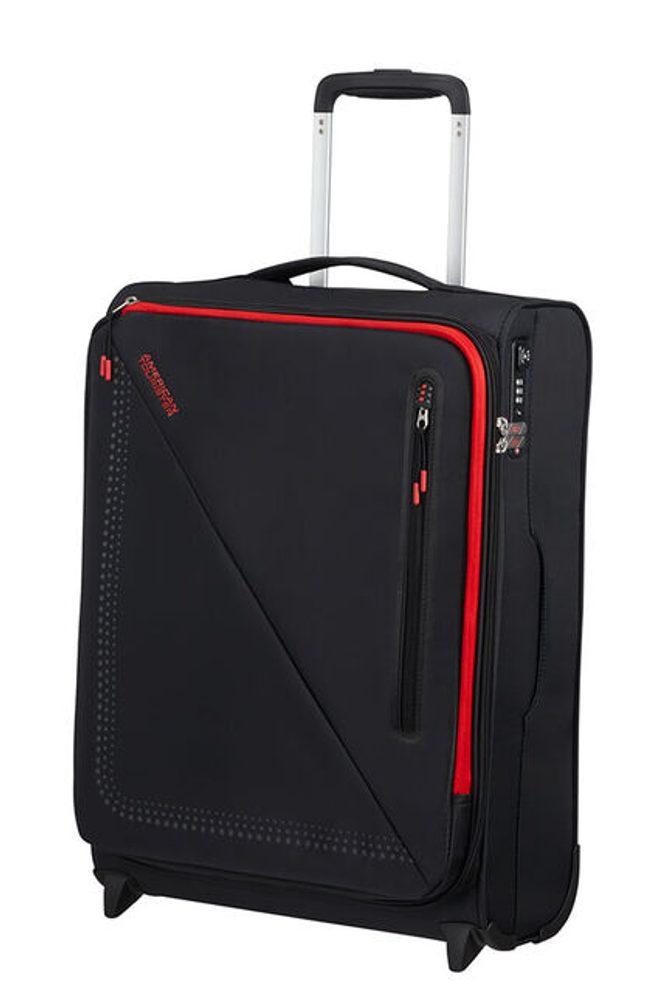 American Tourister Kabinový cestovní kufr Lite Volt Upright 42 l - BLACK/RED