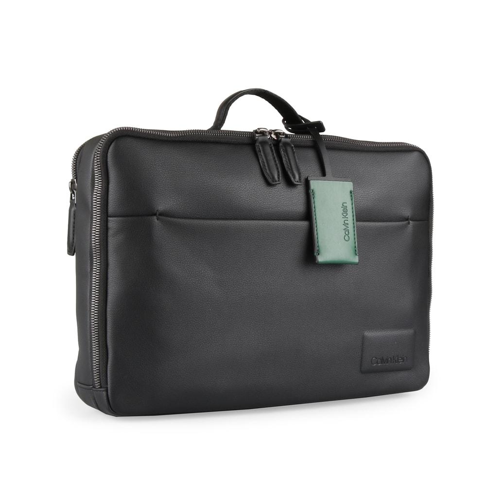 Calvin Klein Pánská taška na notebook/batoh 2v1 Task Force Convert K50K503858 - černá