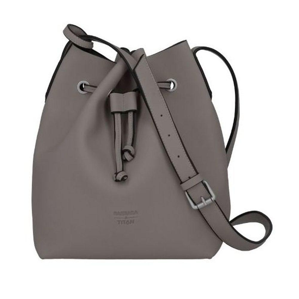 Titan Dámská kabelka Barbara Pure Bucket Bag Grey