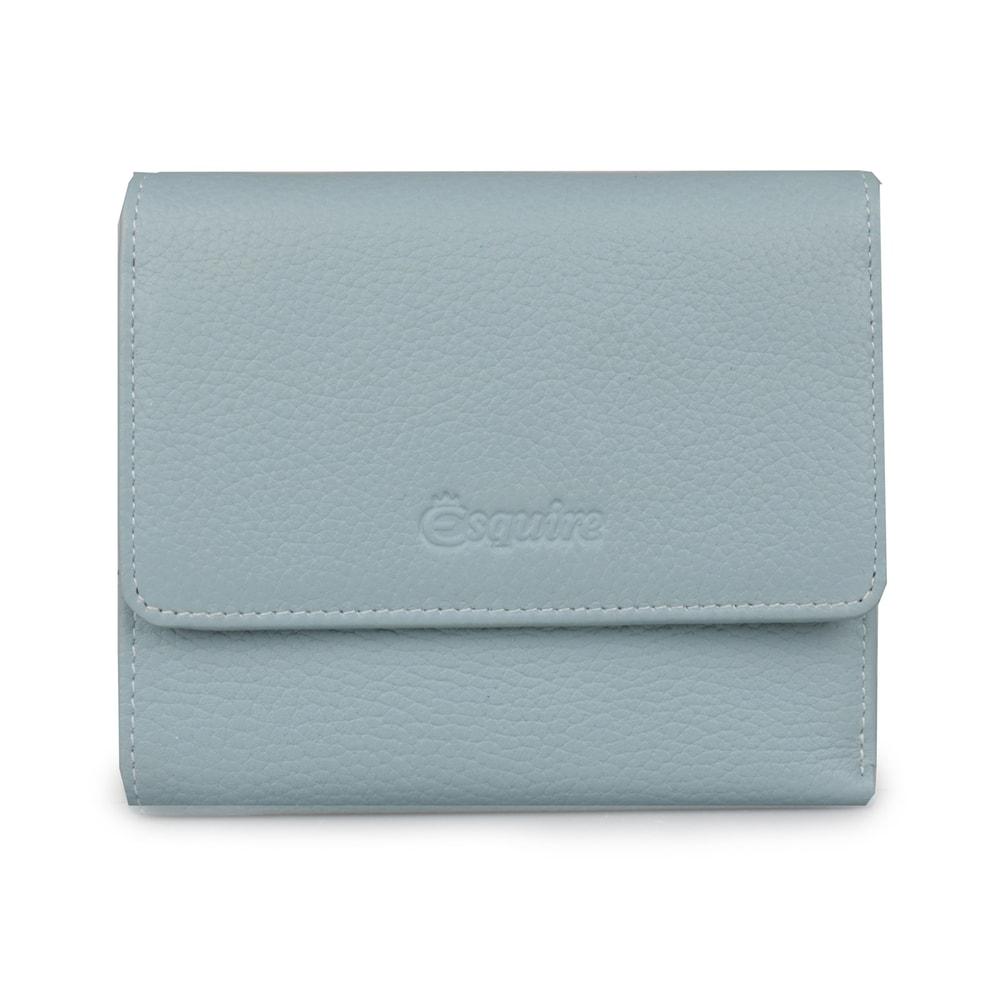 Esquire Dámská kožená peněženka 127805 - světle modrá