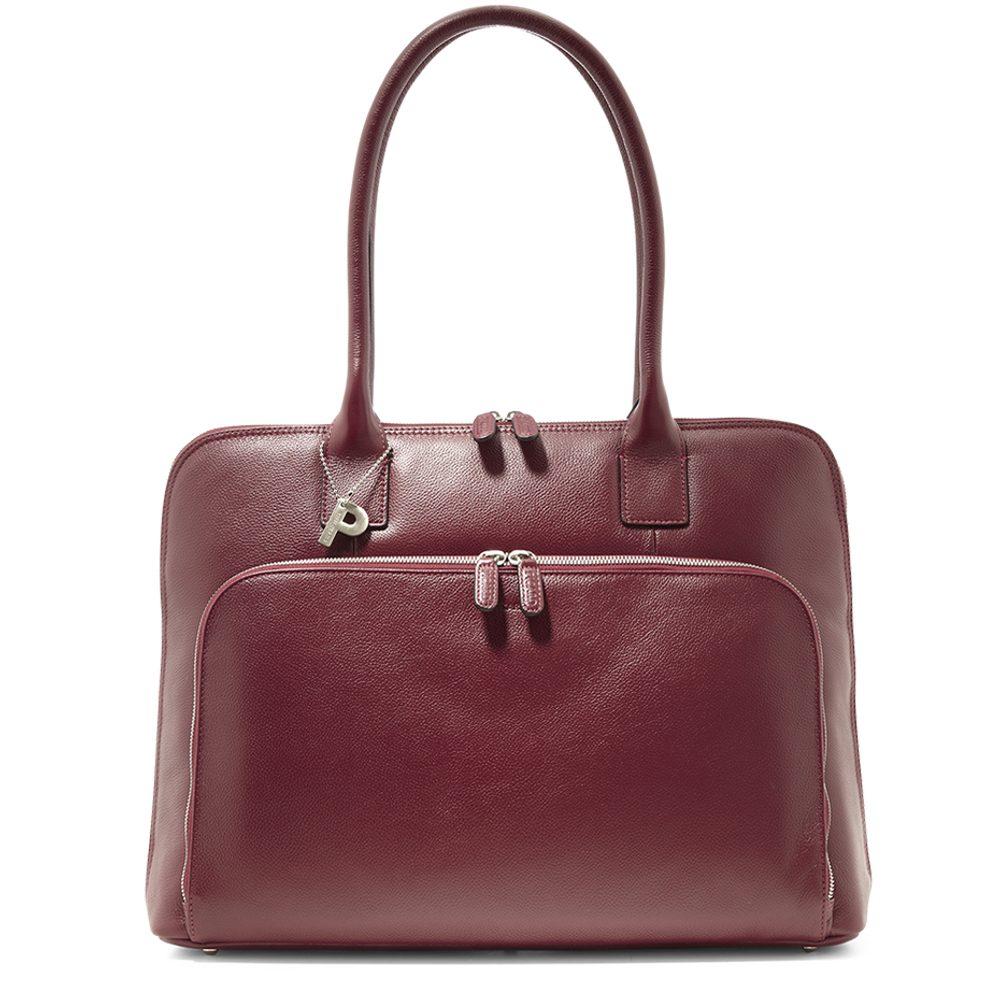Picard Dámská kožená kabelka na notebook Milano 9319 - červená