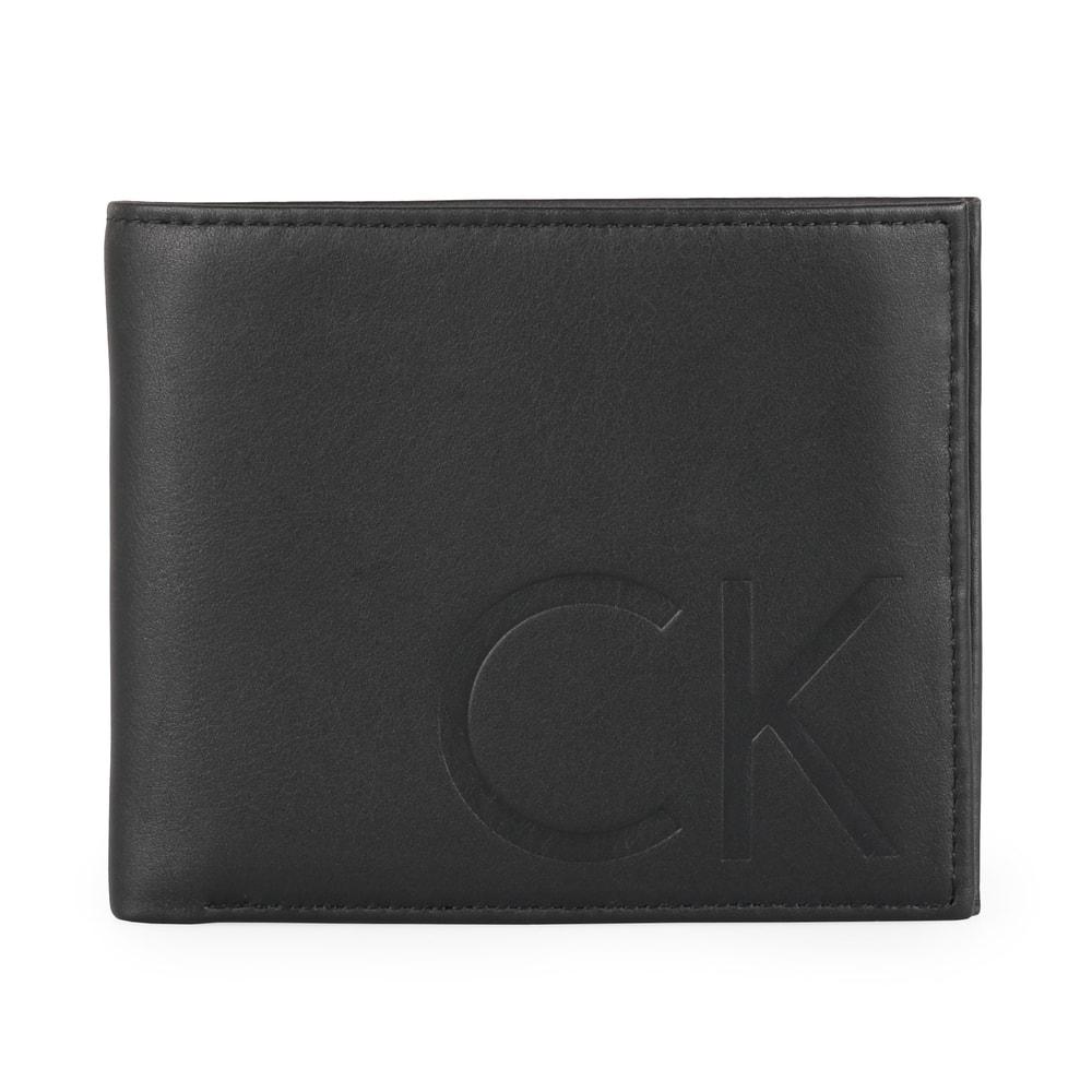 Calvin Klein Pánská kožená peněženka F1NN K50K502034 - černá