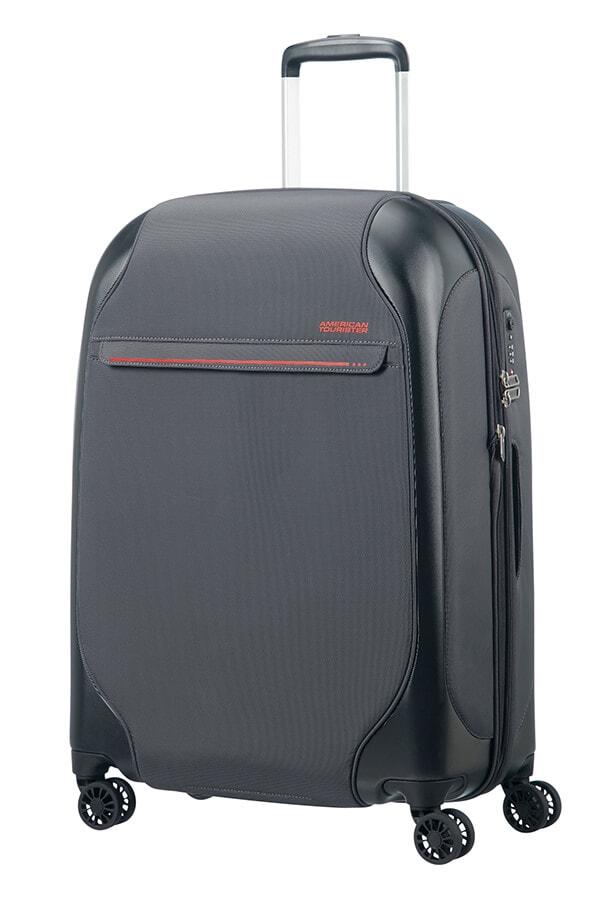American Tourister Cestovní kufr Skyglider EXP 57G 74/82,5 l - tmavě šedá