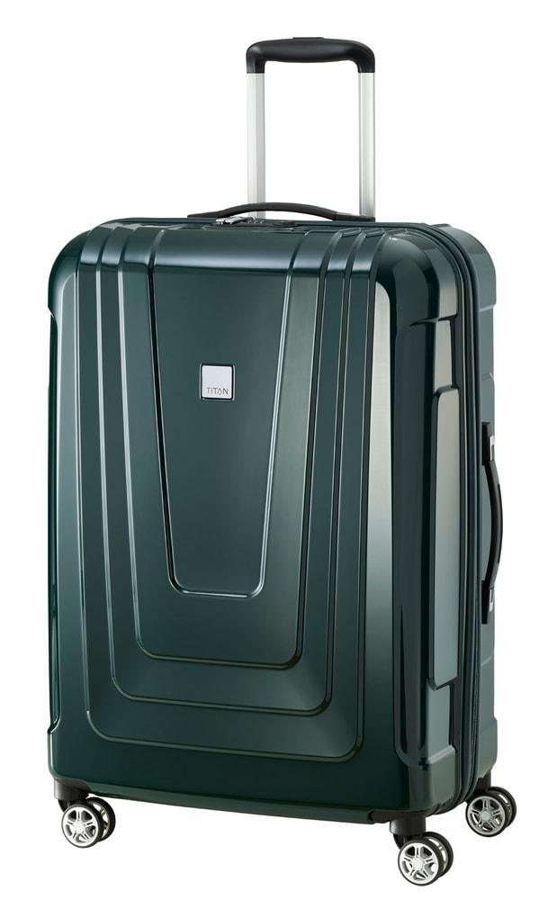 Titan Cestovní kufr X-ray 4w M+ Racing Green 87 l