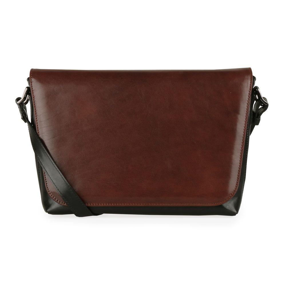Hajn Dámská kožená kabelka s výměnnou klopnou 1246013