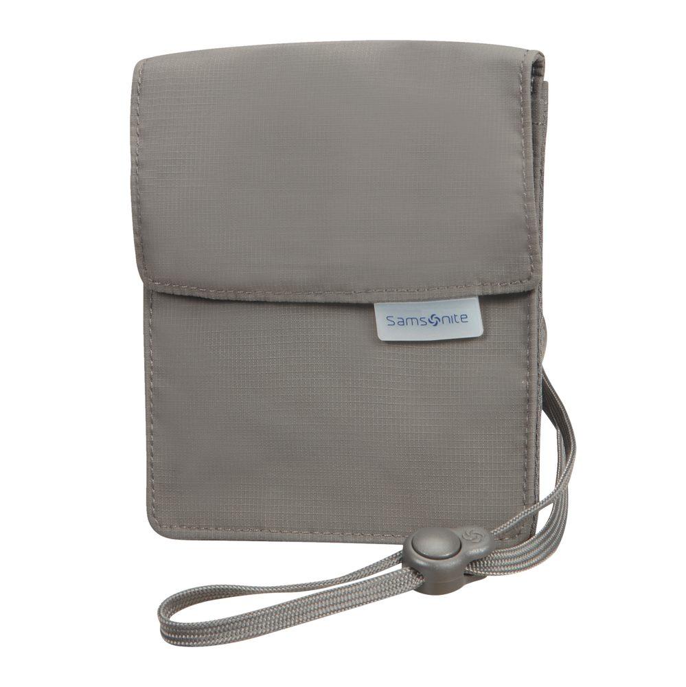 Samsonite Bezpečnostní kapsička na krk RFID Money Belt - šedá