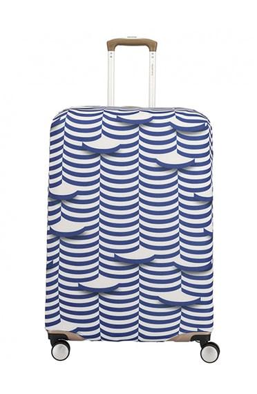 Travelite Ochranný obal na kufr 318 vel. M - bílá
