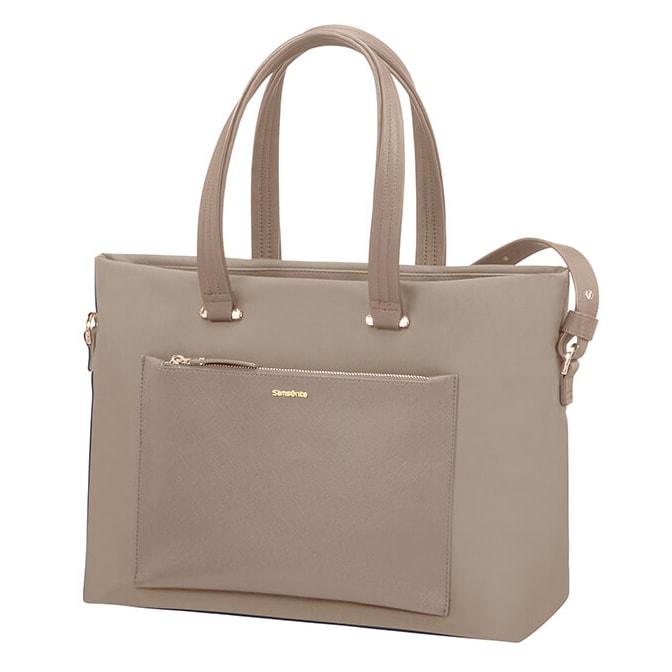 """Samsonite Dámská taška na notebook Zalia 85D-008 15.6"""" - béžová"""