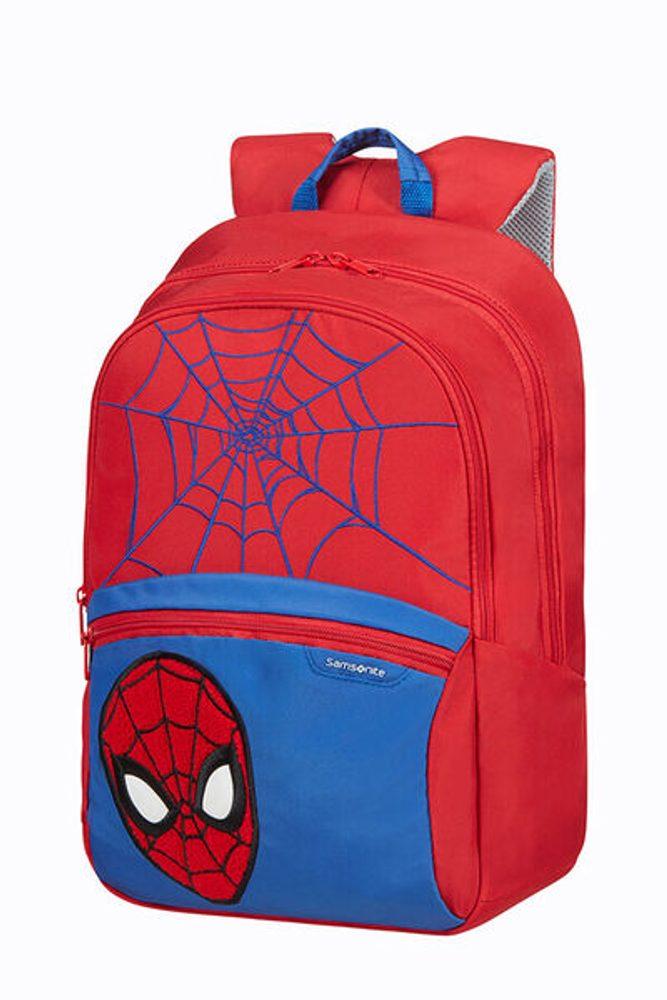 Samsonite Dětský batoh Disney Ultimate 2.0 M Marvel Spider-Man 16 l - červená