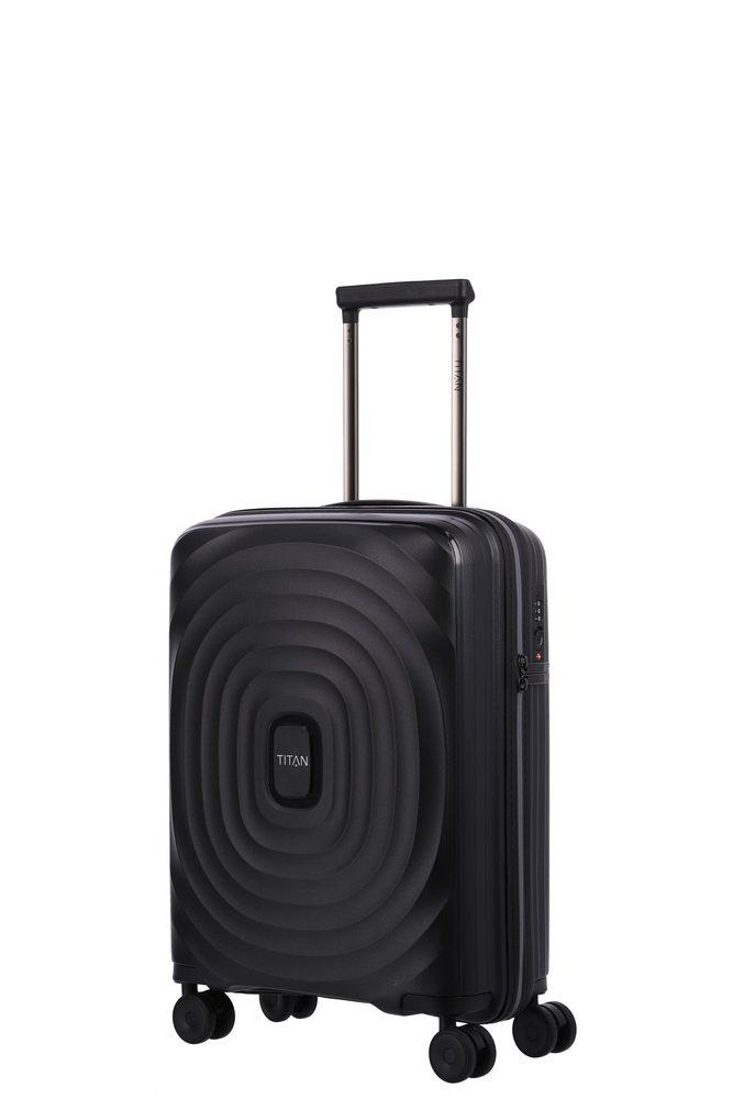 Titan Kabinový cestovní kufr Looping S Black 37 l