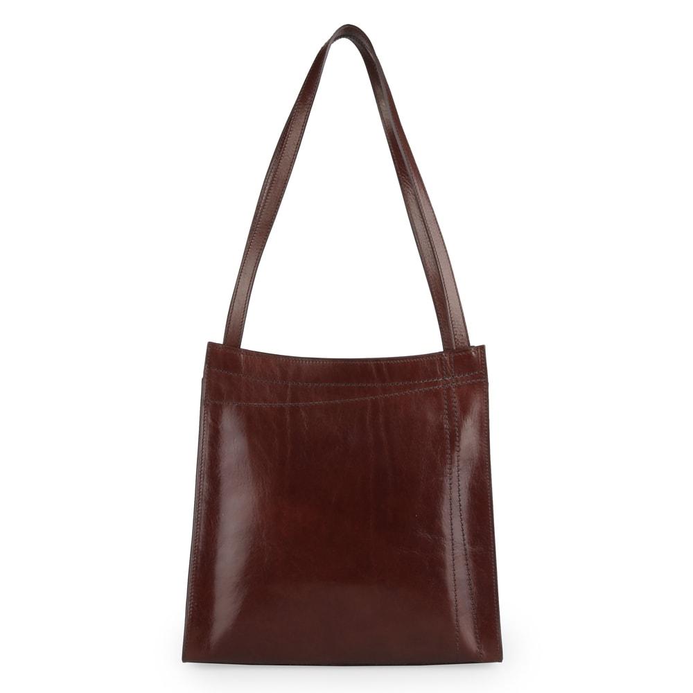 Elega Dámská kožená kabelka přes rameno Meggie 67526