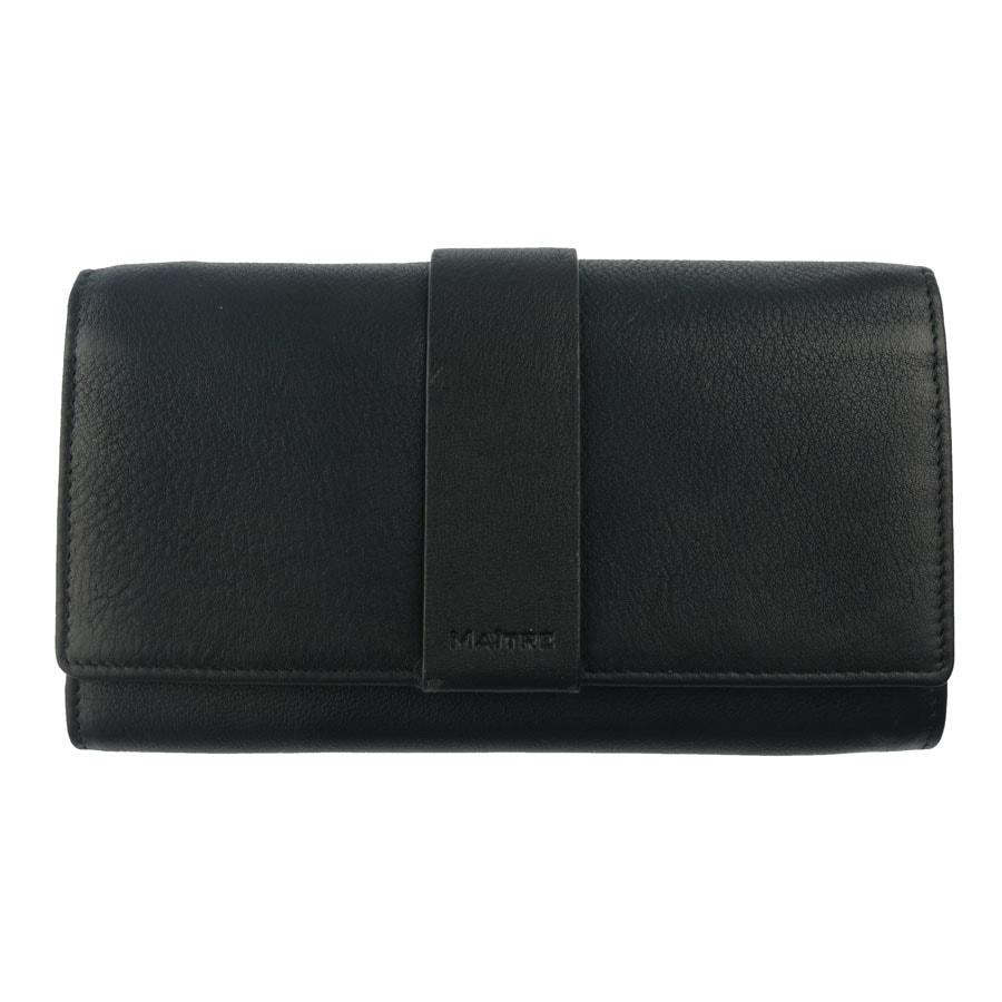 Maître Dámská kožená peněženka 1411, černá